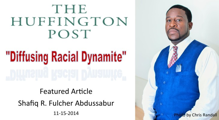 Diffusing Racial Dynamite- Huffington Post pic